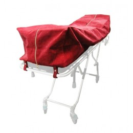 Oversized Burgundy Cot Pouch w/ Zipper