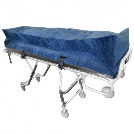 Navy Blue Zipper Cot Pouch