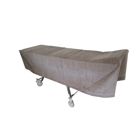 Gray Cot Cover