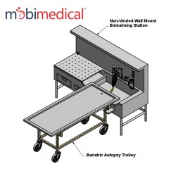 MOBI Wall Mount Embalming Station RS
