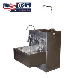 MOBI Stainless Steel Embalming Station