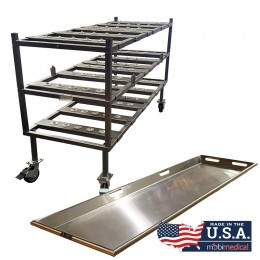 3 Tier Multi Directional Load Roller Rack with Trays