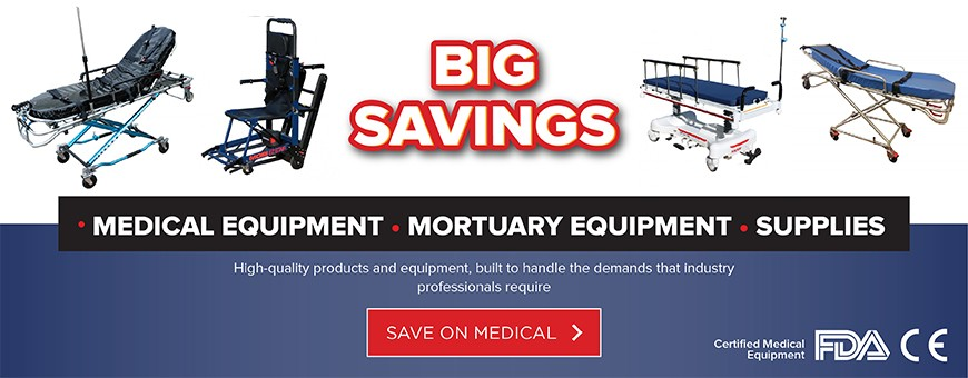Medical Stretchers - Ambulance Stretchers - Mobi Medical Supply