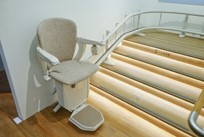 Stair Lifts vs Battery Powered Stair Chair